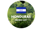 Green coffee imported from the Cerro Bonito community in Honduras.