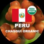 Peru green coffee beans