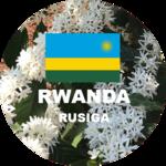 Rwanda green coffee